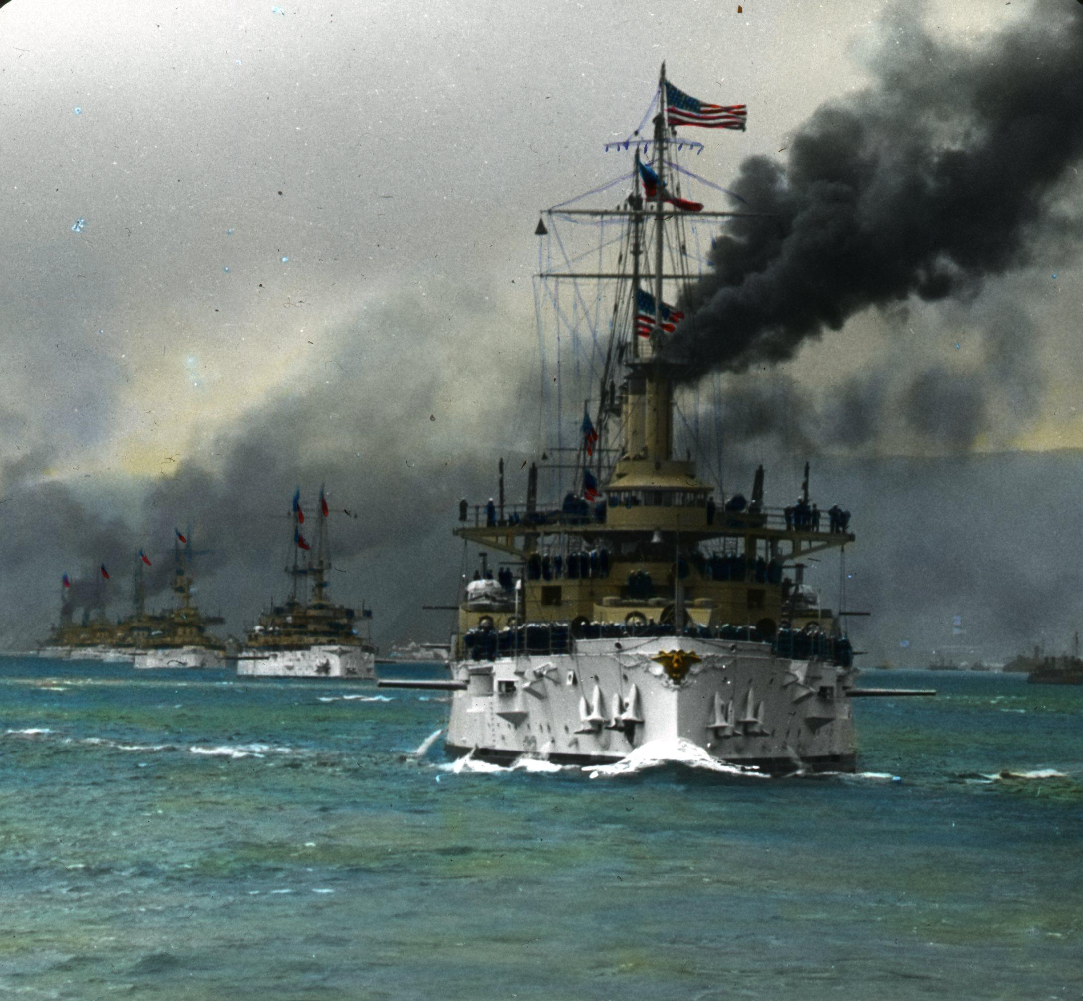 Battleships and the bridge ... World War I 67